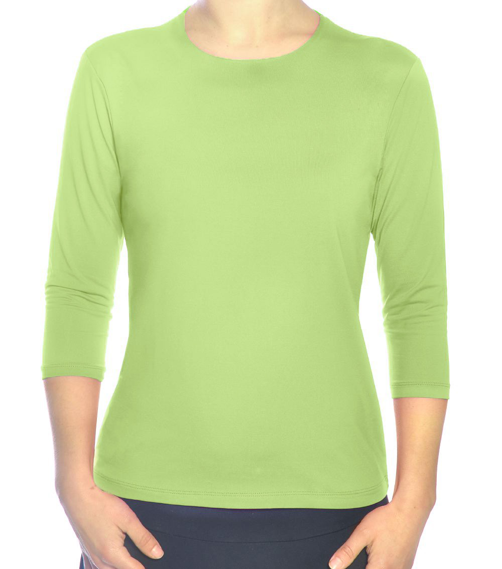 Swimming top in light green